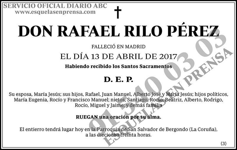 Rafael Rilo Pérez